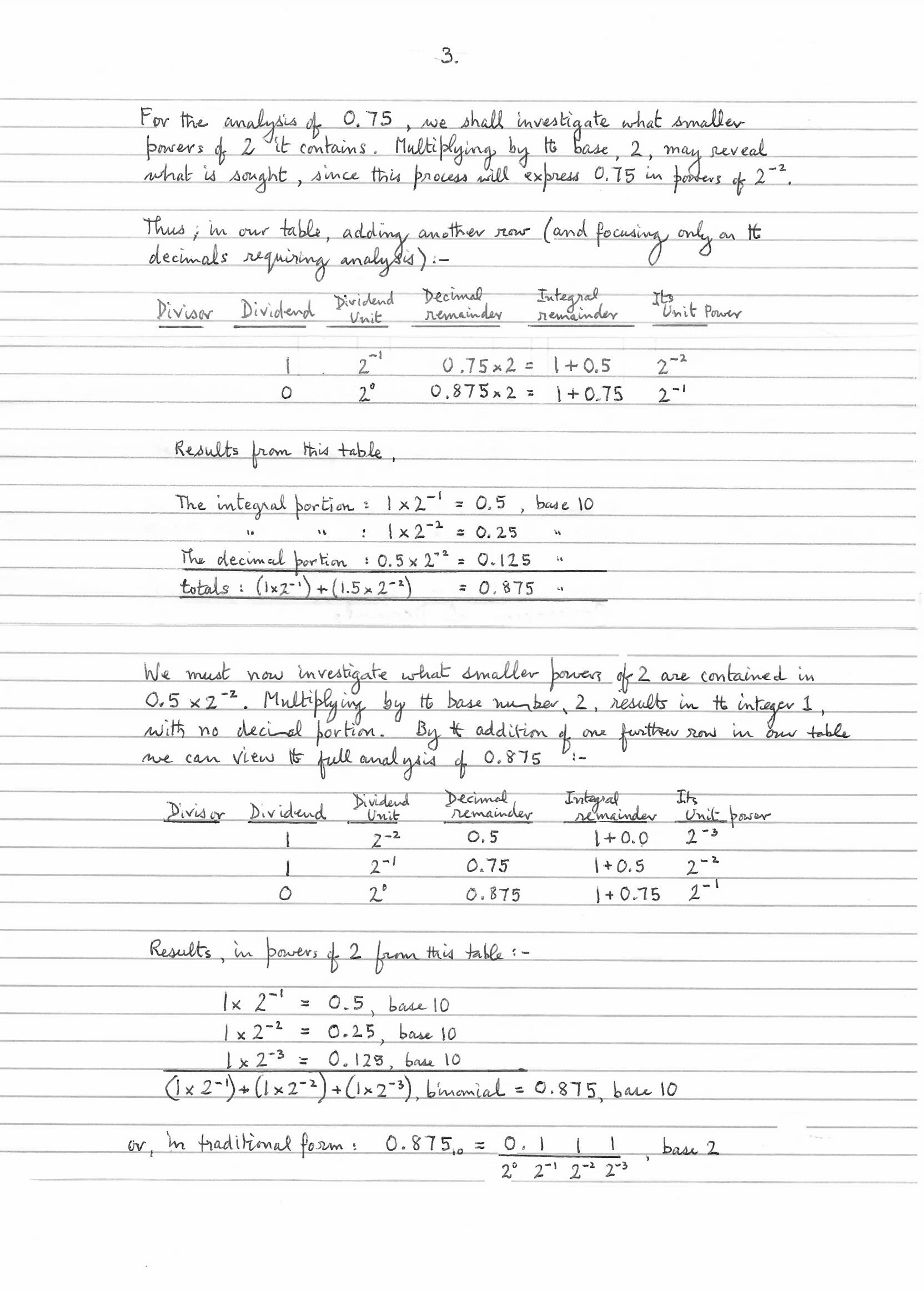 Decimal base conversion, p4